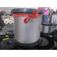 China 304 4.5mm 7 x 7, 1 * 7, 3 * 3 stainless steel wire rope specifications DIN, ISO, ASTM on sale