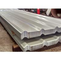 Best YX10 110 880 Style Coloured Corrugated Roofing Sheets , Coated Profile Roofing Sheets wholesale