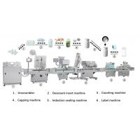 China High Speed Tablet Counter , Tablet Counting Filling And Tablet Bottling Production Line on sale