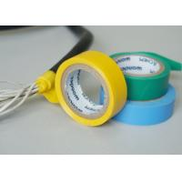 Vinyl Electrical Insulating Heat Resistant Tape , Blue PVC Masking Tape