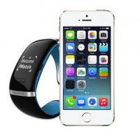 Buy cheap L12S OLED Bluetooth 3.0 Bracelet Wrist Watch Smart Watch for IOS iPhone Samsung from wholesalers