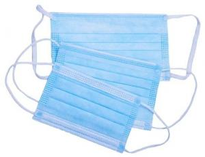 Best Ear Hanging Disposable Mouth Mask , Disposable Non Woven Face Mask Super Soft Cloth wholesale