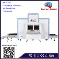 Best Strong Penetration Luggage X Ray Machine 1010*1003mm Tunnel Size CE Approval wholesale