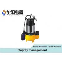 Best Stainless Steel Submersible Sewage Pumps Well Pool Water Supply 0.18 KW Min wholesale