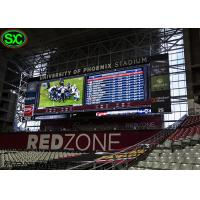 Buy cheap P12 HD Digital Sport Live Led Stadium Display With Soft Protected Mask from wholesalers