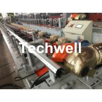 Best 40mm, 60mm, 70mm, 80mm Octagon / Octagonal Pipe Roll Forming Machine With Fly Saw Cutting wholesale