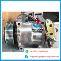 China 7h15 8067 7890 automotive air conditioning compressor for Scania Truck 114 124 2008>2011 24v 8pk 1376998 1412263 1888034 on sale