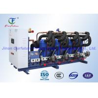 China Scroll Parallel Danfoss Compressor Unit , Refrigeration Compressor Rack on sale