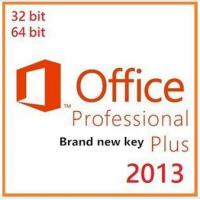 Microsoft Office 2013 Product Key Card , Microsoft Office Professional Plus 2013
