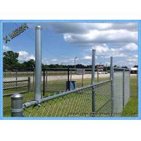 Buy cheap Green Color 10 Gauge Galvanized Chain Link Fence 6 Foot Quick To Install from wholesalers