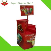 Best Specialized colorful decorative corrugated display stand wholesale