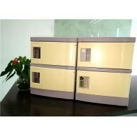 Best 180*310*460  ABS Cell Phone Charging Locker With Four Code Lock For Secret Place wholesale