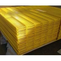Best PVC Coated Wire Mesh Fence High Security 5.0mm For Prison / Airport Protect wholesale