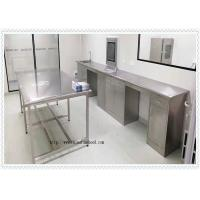 Best Coating 304 Stainless Steel  Lab Furniture  / SS Work Table High Performance wholesale