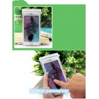 Best EVA Plastic Pouches Packaging , frosted slider zipper bag for cell phone wholesale