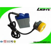 Best 1000 Battery Cycles Mining Hard Hat Led Lights 15000lux High Beam Corded Lamp wholesale