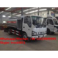 Best 2020s new manufactured good price ISUZU mini 4*2 LHD 4-5m3 fuel bowser vehicle for sale, Wholesale price fuel tank truck wholesale