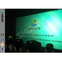 Best Genuine Leather Convenient 6D Movie Theater With 3DOF Motion Chairs wholesale