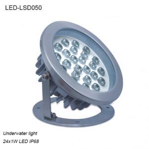 Best High efficiency 24W φ215xH221mm exterior IP68 LED Underwater light wholesale