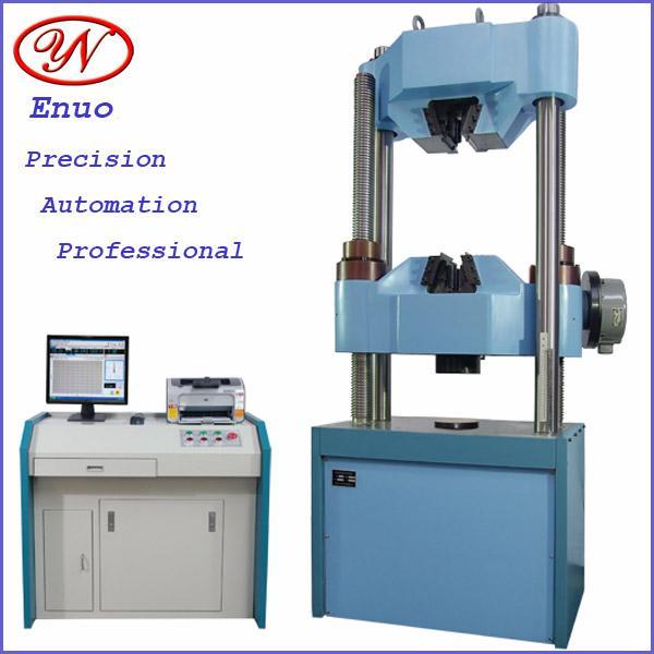 Hydraulic Test Equipment : Details of electro hydraulic servo compression test