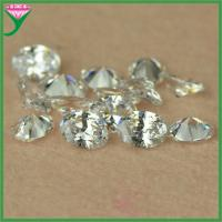 Best Wholesale AAA 4x6mm synthetic white oval shaped zircon semi precious stone wholesale