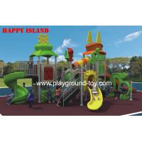 Best Sport Series Playground Equipment Slides , Recycled Play  Equipment For Children wholesale