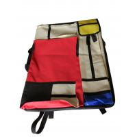 Best 4K hand-held double-sided drawer bag stitching red and yellow blue multi-functional painting bag wholesale