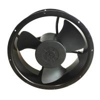 China Round 12v Dc Equipment Cooling Fans 500cfm 600cfm Exhaust Type For Wind Generators on sale
