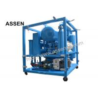 Best High Vacuum Double Stage Transformer Oil Purifier System Machine,Used Insulation Oil Purifier wholesale