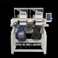 Best Flat / T Shirt  / Shoes Double Head Embroidery Machine Like Brother Embroidery Machine wholesale