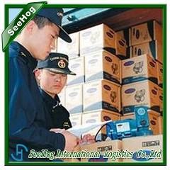 China Spanish food import agency / shanghai import beverage custom brokers company on sale