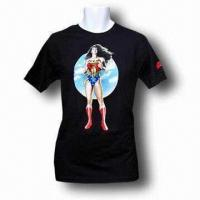 Best Men's T-shirt, Made of Cotton, Various Sizes are Available wholesale