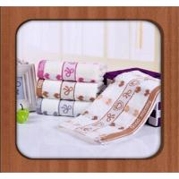 China 2016 100% cotton Wholesale good quality promotional custom printed Face towel on sale