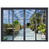 Best Thermal Break Aluminium Sliding Glass Doors Color Optional With Security System wholesale