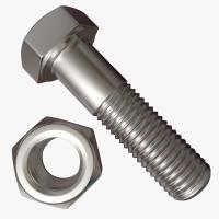 China Zinc Coated Hex Head Bolt , Half Thread Heavy Hex Structural Bolt M6-M24 on sale