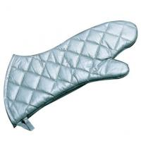 Best Steam Protection Silver Oven Mitts high Flexibility Fits Comfortably wholesale