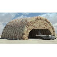 Large inflatable hangar, tent