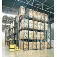 China Steel Storage Shelf High Quality Drive In Pallet Racking System Adjustable Layers Warehouse Storage Shelves Rack Manufac on sale