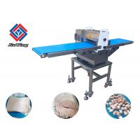 China 500KG/H Meat Processing Machine Chicken Cutter Fresh Meat Strips Cube Dicing Equipment on sale