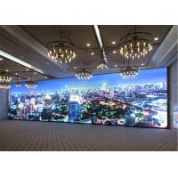 Best 1R1G1B Indoor Full Color Led Display , SMD2121 Custom Led Signs Indoor P2.5mm wholesale