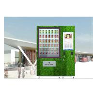 Best QR Code Fresh Fruit Food Salad Vending Machine Refrigerator With Touch Screen wholesale