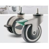 Best Tpr Medical Equipments Front Wheel Caster 100mm 200mm Black Color Available wholesale