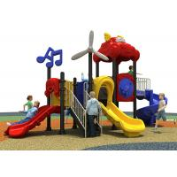 China Toys Childrens Plastic Playground For Amusement Park / Kindergarten / Pre School on sale