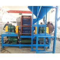 Best Dual Roller Tire Shredding Machine For Clean Rubber On The Bead Wires wholesale
