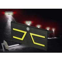 Best IP65 PIR Solar Powered Motion Lights , Outdoor Solar Wall Lights Zero Electrical Bill wholesale