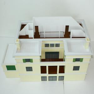Best Commercial Building Miniature Architectural Models Layout Wood Base wholesale