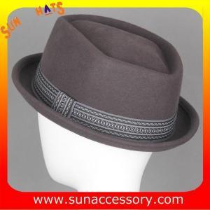 Best 5480380 Sun Accessory customized  winner  fashion 100% wool felt hats, men hats and caps wholesaling wholesale