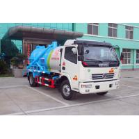 China Sewage pump truck / Special Purpose Truck with 3000L tank volumn 120HP Engine on sale