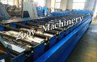 Best Automatic Metal Floor Deck Cold Roll Forming Machine With 8 - 12 M/Min Forming Speed wholesale