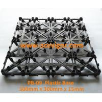 Best PB-09 Interlocking Plastic mat for decking tiles wholesale